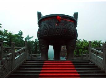 肇庆七星岩 鼎湖山 古宋城墙白沙龙母庙水舞灯光秀2天
