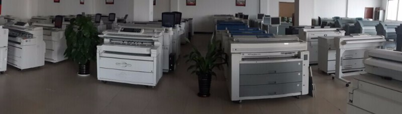 二手奥西TDS750带彩扫工程复印机数码打印机激光蓝图机