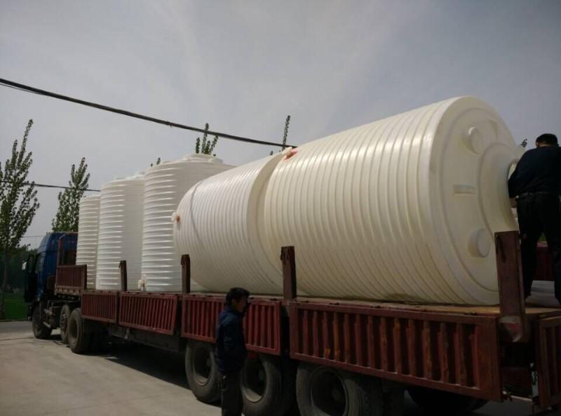 山东德州 30立方耐酸碱储罐30吨PE塑料桶水塔