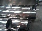 304不锈钢螺纹管 不锈钢压花管