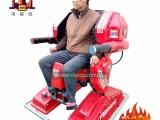 广场站立行走机器人儿童双人电动碰碰车战火金刚游乐摩托设备