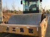 二手压路机徐工20 22 26吨震动压路机,双钢轮胶轮压路机