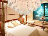 现代简约酒店工程LED客厅灯圆形水晶灯吸顶灯卧室灯饰餐厅水晶灯