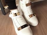 权志龙同款鞋gz高帮鞋白色男鞋韩版GD潮流林弯弯夜店鞋陈冠希潮鞋