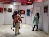 上海黃浦畫展專用展板出租,掛畫背板展架租賃,免費搭建