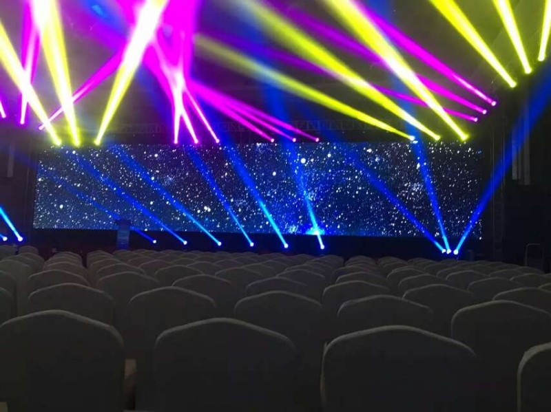 舞台灯光音响 LED屏 桌椅 启动球 彩虹门 桁架租赁