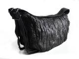 新款纯羊皮拼接女包单肩斜跨手提多功能背包休闲女包广州厂家直销