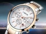 淘表圈精品手表推荐 卡芬妮带日历机械男士手表