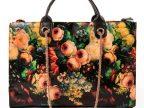 彩绘包2014夏季女欧美复古风油画玫瑰花卉手提包女单肩包链条包
