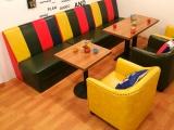 天津 卡座沙发 餐桌椅 给必胜客 西餐厅供货 免费送货安装
