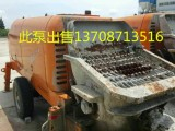 二手混凝土输送泵出售 处理