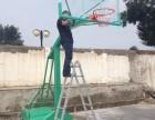合肥公司工地员工业务爱好篮球架户外移动篮球架销售安装