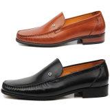 品牌男鞋正品代购2014新款商务正装套脚男士真皮鞋耐磨