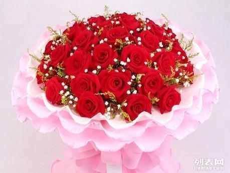 洮南鲜花速递33朵红玫瑰生日圣诞济宁临沂德州滨州同城送花订花店