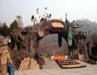 陕西假树 生态园 仿木假树大门制作定制 销售各种防腐木