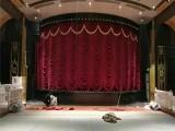 惠州东莞定做金丝绒舞台幕布惠州东莞制作金丝绒对开舞台幕布
