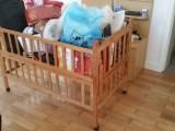 低价转让纯松木儿童用床
