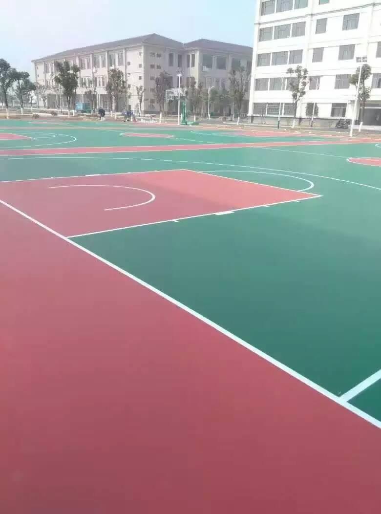 丙烯酸篮球场建设工程
