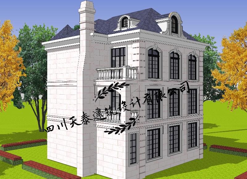 重庆潼南自建房 别墅 小洋房 乡镇房屋 景观设计及施工