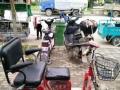 淮海电动三轮车九成新,适用于老年人代步工具,接送小孩清洁方便