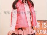 品牌童装折扣《迪士尼》尾货秋冬装棉衣羽绒服走份广州酷小孩服饰
