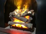 红炉透炭炙寒风,炭炙寒风御隆冬-礼品伏羲壁炉3D火焰电暖器