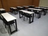 合肥课桌椅,培训桌周边,厂家定制销售长条桌书法绘画桌