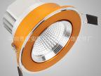 LED外壳 COB天花灯  COB扫纹金4.0刀片 厂家直销