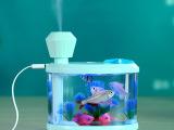 鱼缸加湿器 迷你家用空气加湿净化器 US