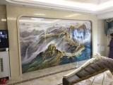 阿拉尔3D瓷砖客厅石材罗马柱厂家直销