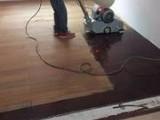 厦门防腐木户外地板打磨油漆翻新 就找 地板师傅