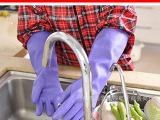 pu加厚加绒乳胶手套,保暖家务洗衣乳胶手套,防护手套,劳保用品