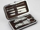 F450 礼盒装美容美甲七件套 进口不锈钢指甲刀套装 个性礼品批