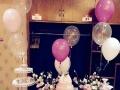 七夕求婚气球布置,百日宴气球布置,展会气球布置,婚礼地爆
