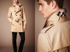 2014秋冬男士新款高端进口棉质嘎巴甸料子风衣(欧版偏大)批发代发