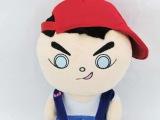 厂家定做人偶毛绒玩具 新款可爱娃娃 动漫毛绒玩具加工 深圳厂家
