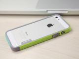 韩国多彩边 框iphone5/5s双色撞色硅胶软iphone4/