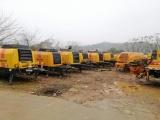 中山西区混泥土地泵车汽车泵输送泵出租租赁