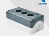 工程电源急停按钮盒 接线电源盒 ABS防水控制盒
