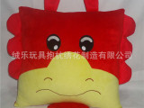 广东工厂来图打样 牛公仔异形抱枕 企业促销礼品可印logo