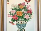 富贵泰平 景泰蓝掐丝珐琅画 中国绘画与西方油画的结合