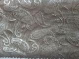 100%银纤维加厚针织布 时尚烫花导电防辐射针织布 抑菌电磁屏蔽