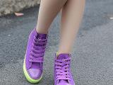 2双起批2014秋款女帆布鞋 明猩队长女单鞋板鞋 休闲帆布女鞋批