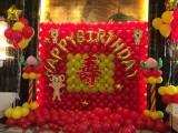 天津生日宴气球寿宴气球布置策划