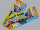 十元店货源 塑料吸板套装玩具 软弹型儿童