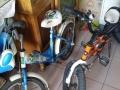 出售儿童自行车两台永久牌和优贝牌