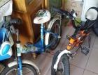 出售儿童自行车两台**牌和优贝牌