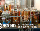 浙江自酿啤酒设备 发酵罐申晖带你来保养