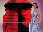 2015秋冬装 马甲女韩版时尚修身羽绒棉连帽棉 马夹背心大码外套