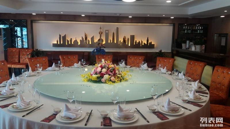 浦江游览船餐 蓝森号上海厅 上海宴会酒会场地